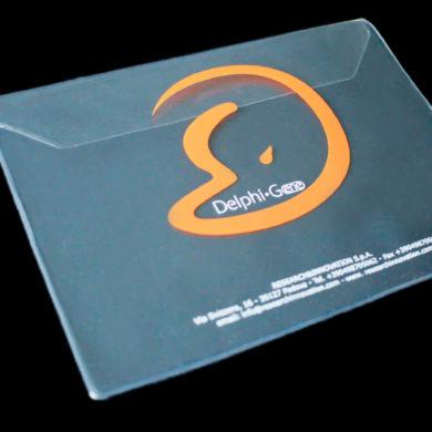 clear plastic folders
