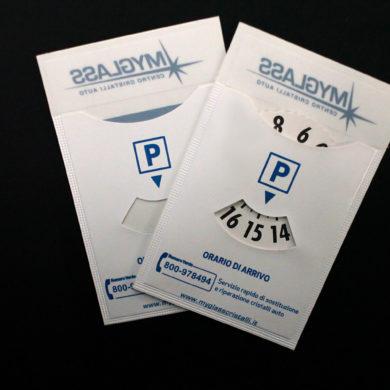 fundas disco estacionamento - permiso de circulación