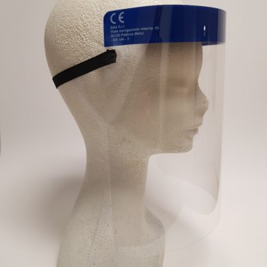 Pantallas de protección facial